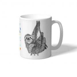 Norman the Sloth Mug