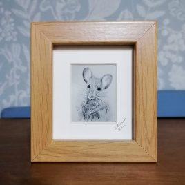 Mini Frank the Mouse Framed Print