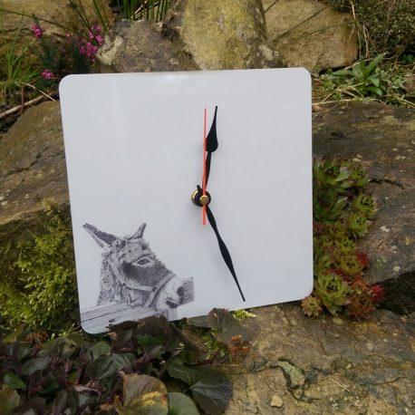 Donkey clock
