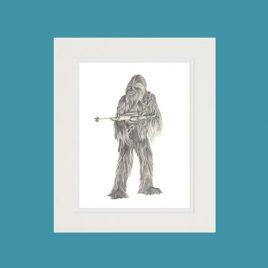 Chewbacca Fine Art Print