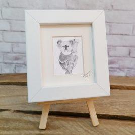 Mini Framed Koala Print