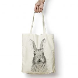 Daisy the Rabbit tote