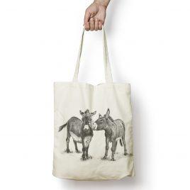 Donkey tote bags