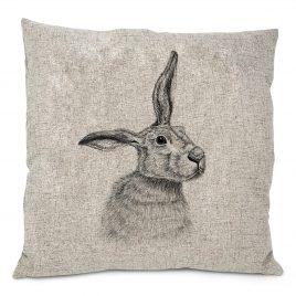 Merlin the Hare Cushion