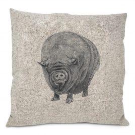 Miss Piggles Cushion