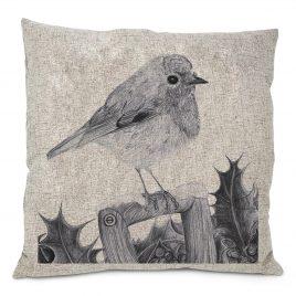 Noelle the Robin Cushion