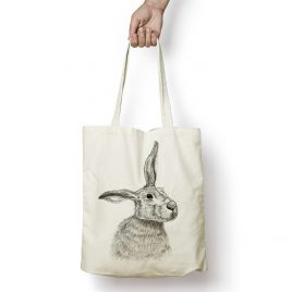 Merlin the Hare Tote Bag