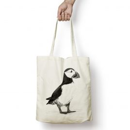Percy the Puffin Tote Bag